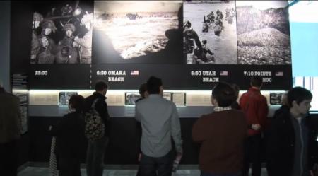 2012 : LE MEMORIAL DE CAEN, LES PLAGES DU DEBARQUEMENT